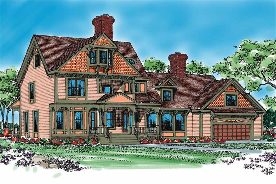 Main image for house plan # 18397