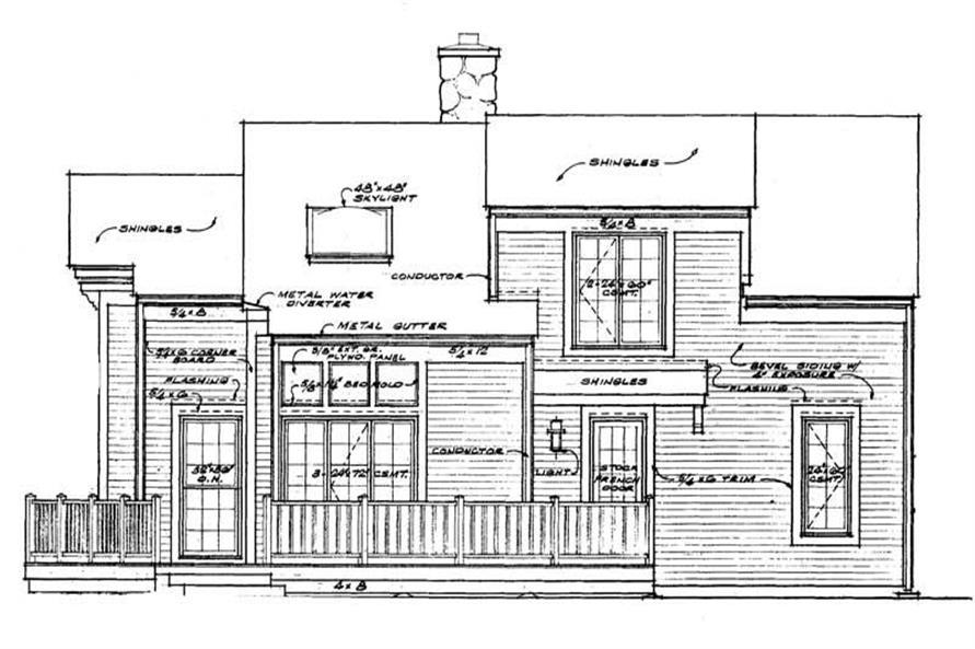 House Plan #137-1632