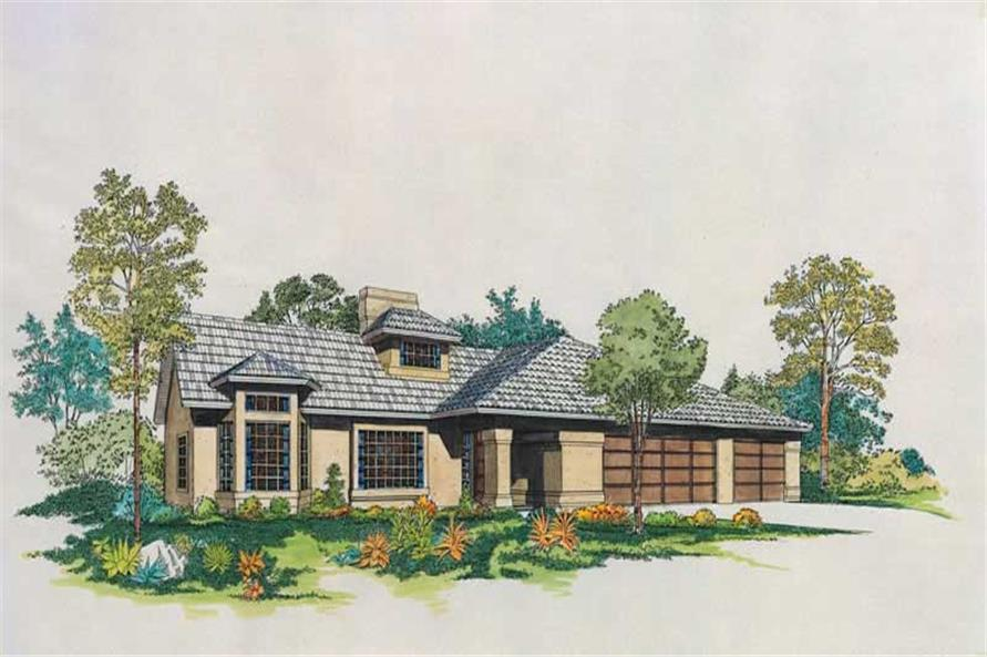 Main image for house plan # 18440