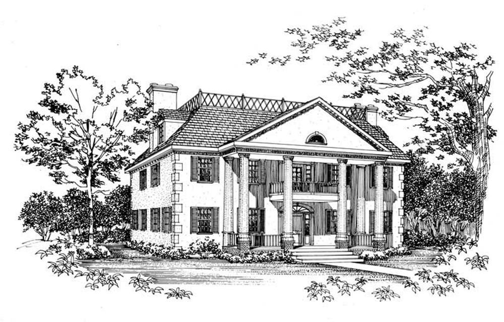 Main image for house plan # 18293
