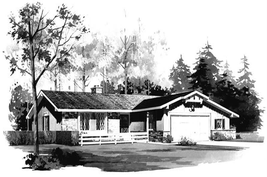 Main image for house plan # 17472