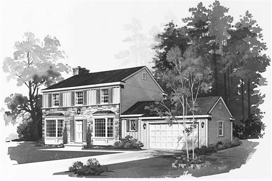 Main image for house plan # 17475