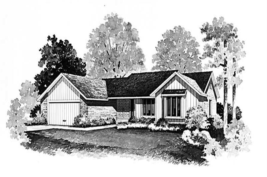 Main image for house plan # 17478