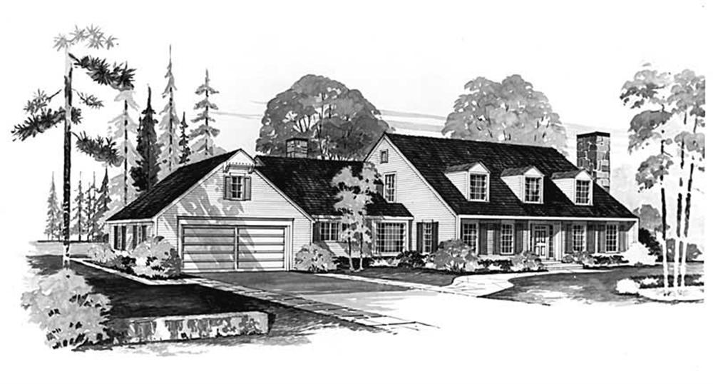 Main image for house plan # 17386