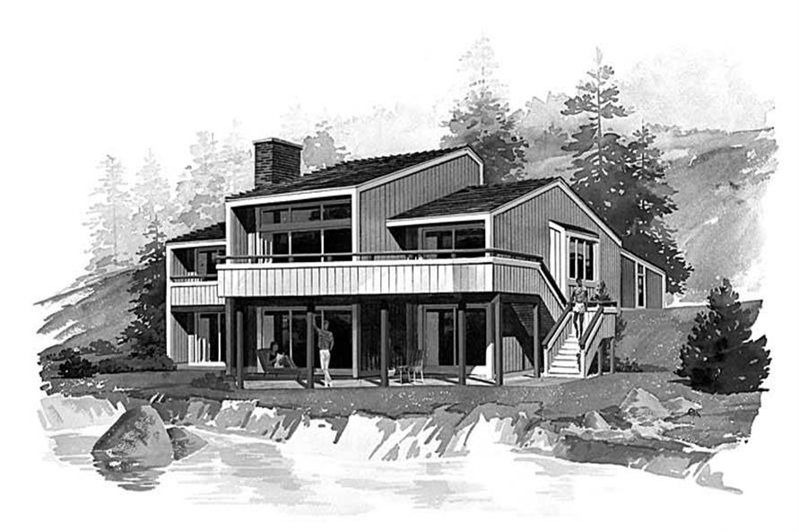 Main image for house plan # 17453