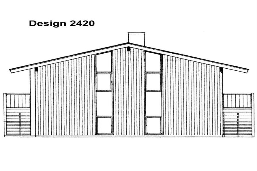 House Plan #137-1667