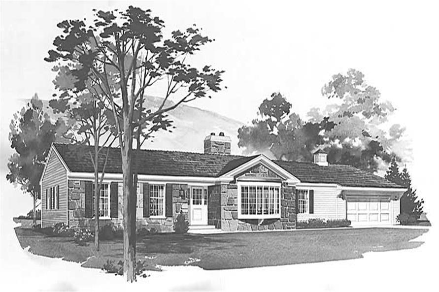 Main image for house plan # 17412