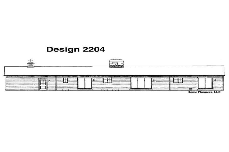 House Plan #137-1671