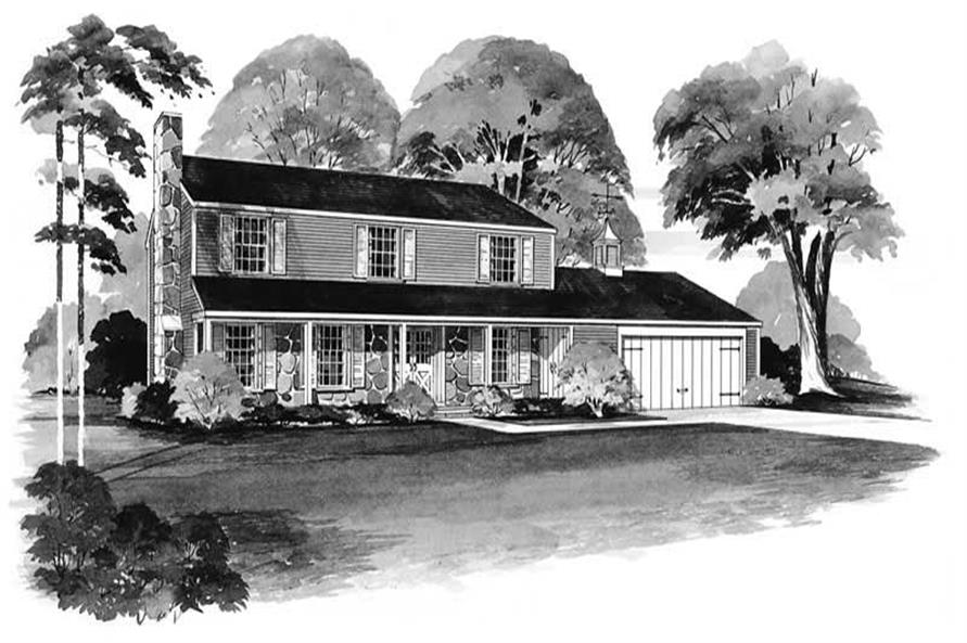 Main image for house plan # 17390