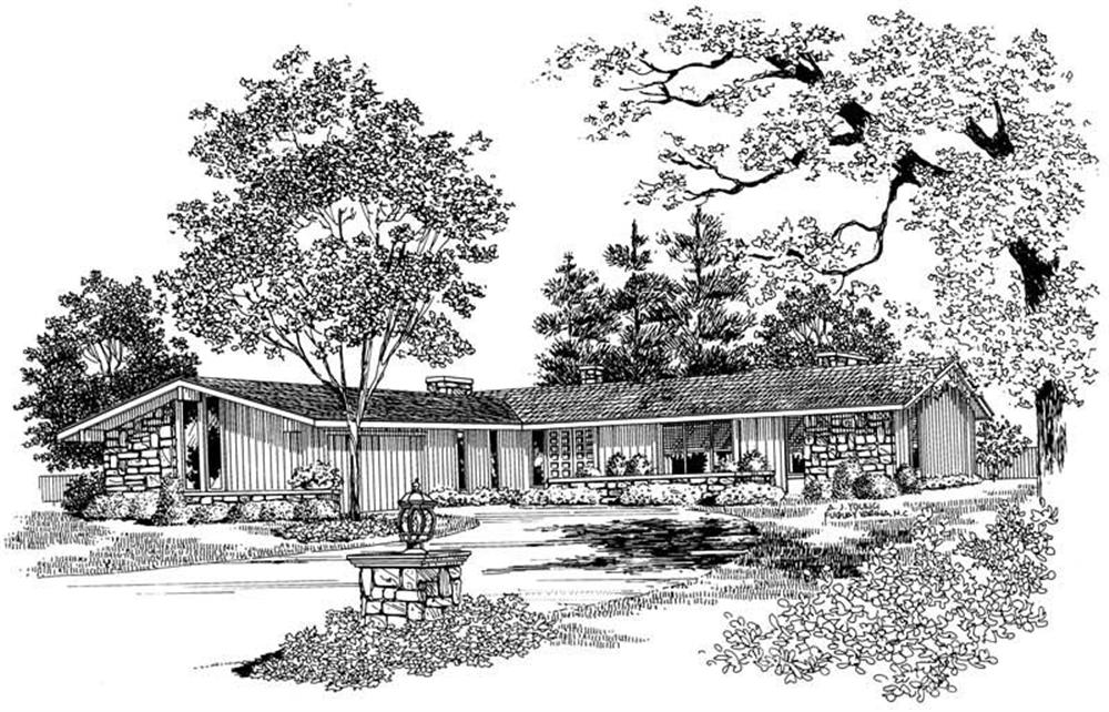 Main image for house plan # 17458