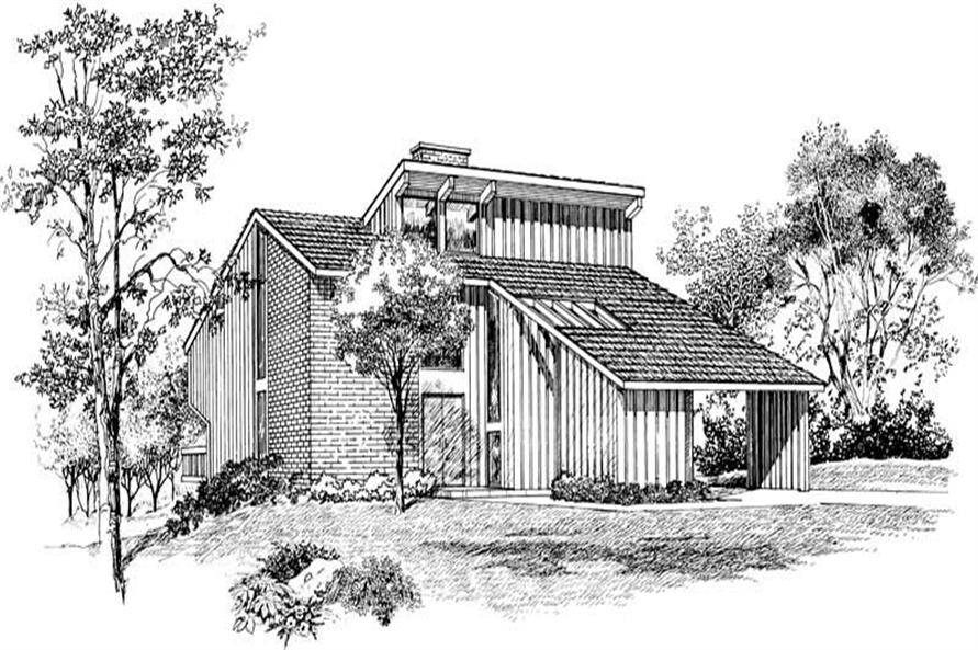 Main image for house plan # 17461