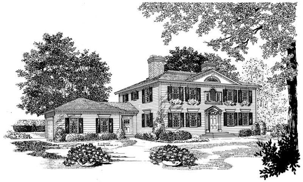 Main image for house plan # 17521
