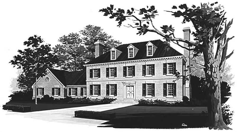 Main image for house plan # 17410