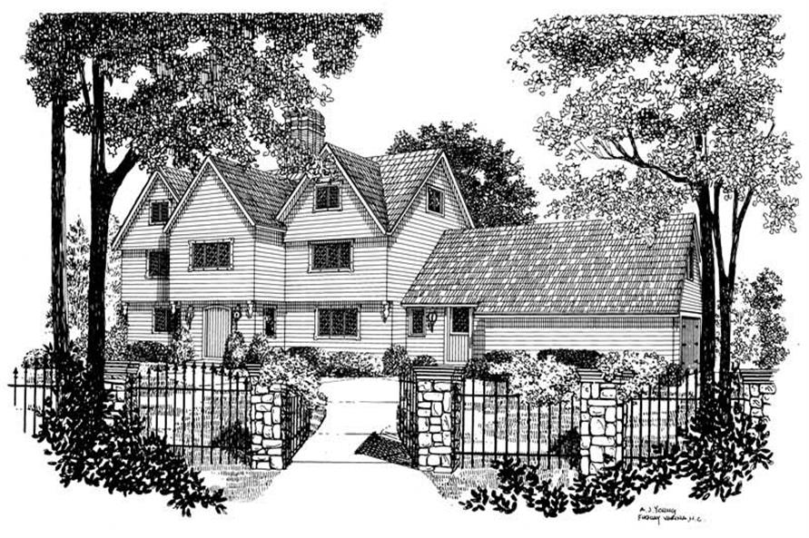 Main image for house plan # 17409