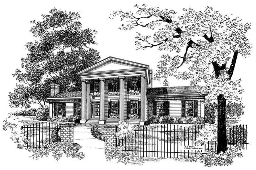 Main image for house plan # 17407