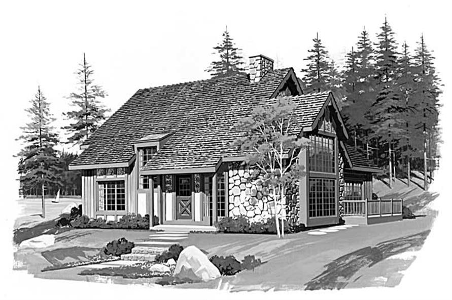 3-Bedroom, 1656 Sq Ft Country House Plan - 137-1682 - Front Exterior