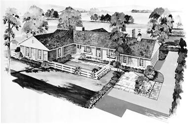 Main image for house plan # 17379