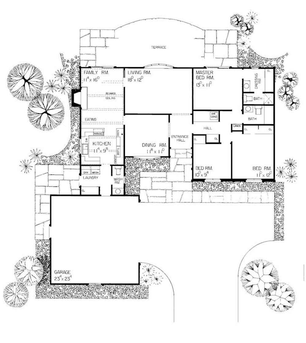 Large images for house plan 137 1691 for The plan collection house plans