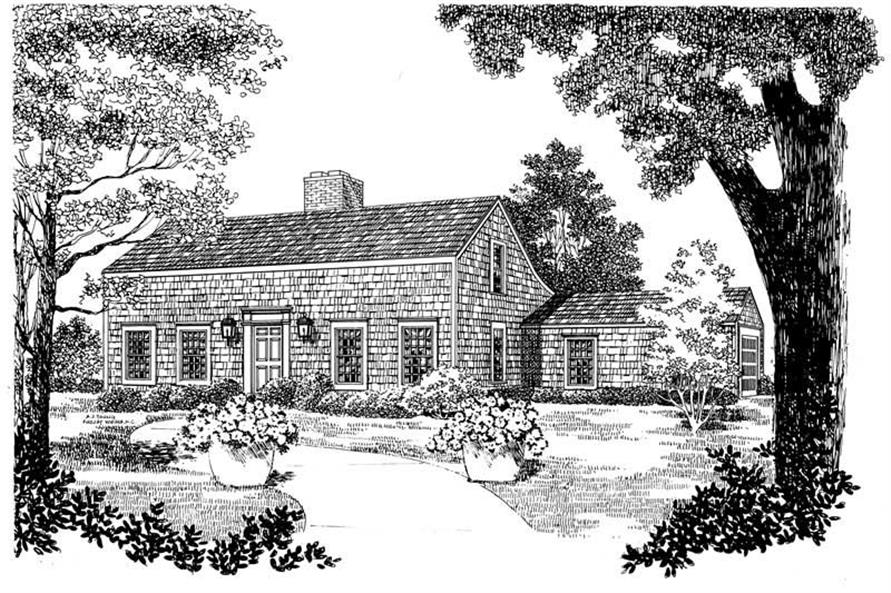 Main image for house plan # 17518