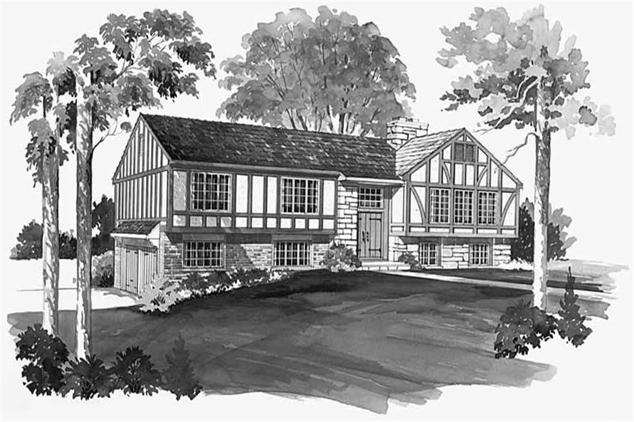 Main image for house plan # 17488