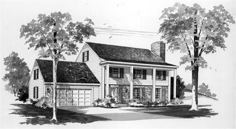 Main image for house plan # 17514