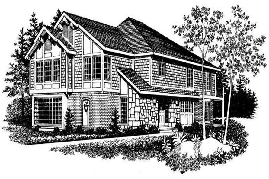 Main image for house plan # 17457