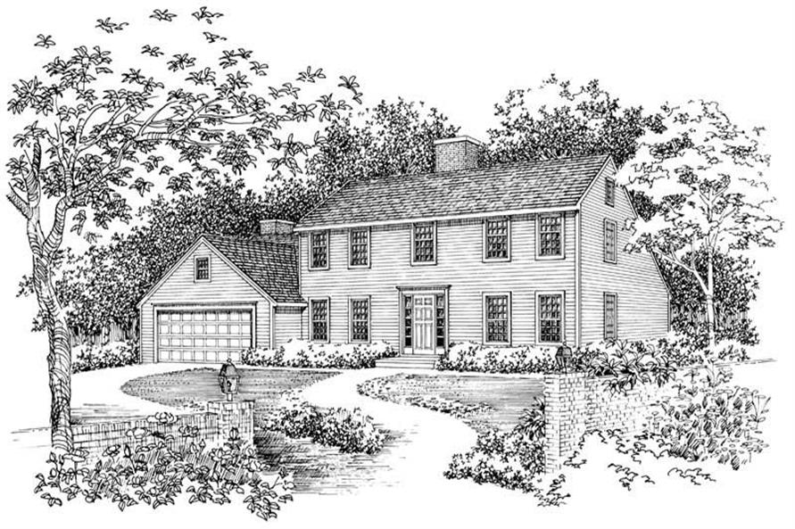 Main image for house plan # 17513