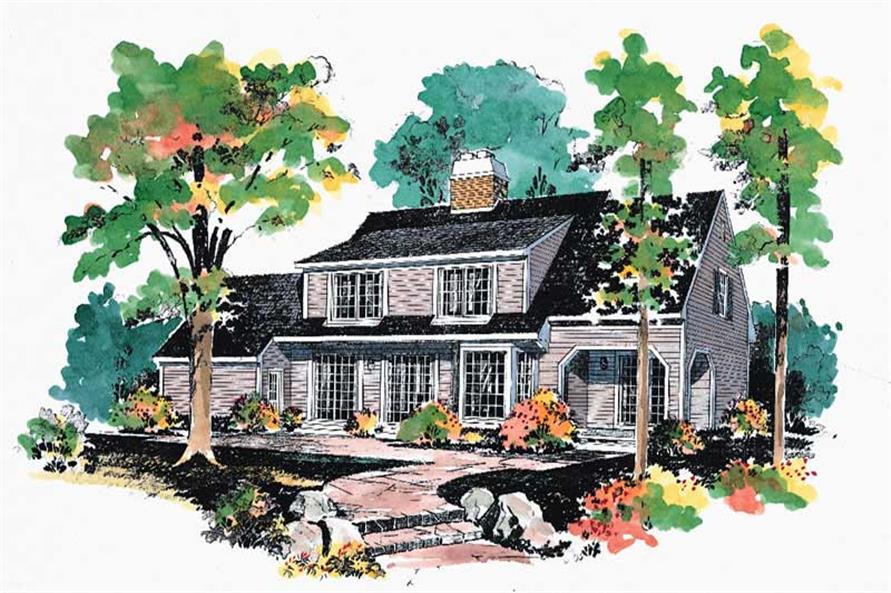 House Plan #137-1715