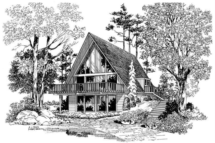 Main image for house plan # 17317