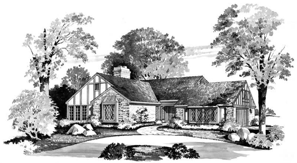 Main image for house plan # 17620