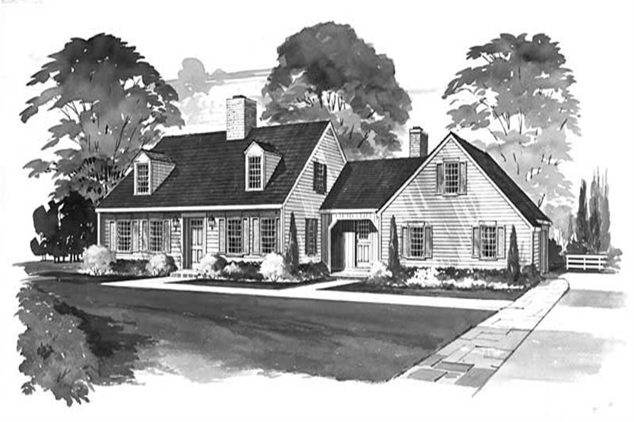Main image for house plan # 17319
