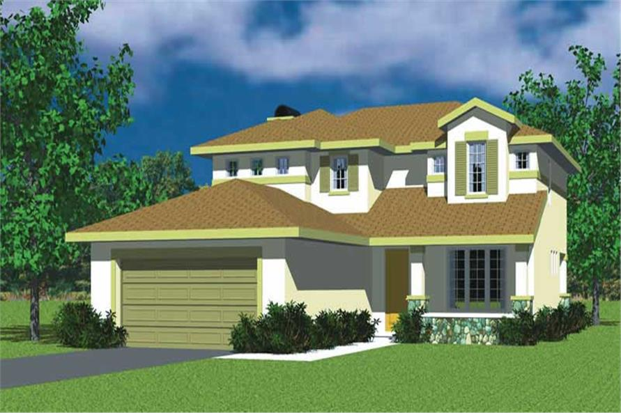 Main image for house plan # 17736