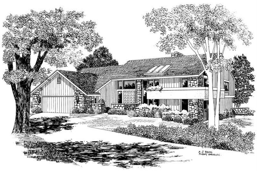 Main image for house plan # 17600