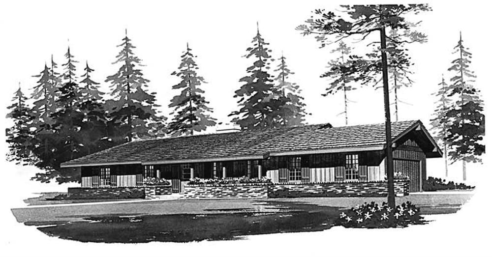 Main image for house plan # 17720