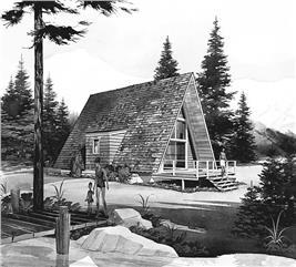 House Plan #137-1744