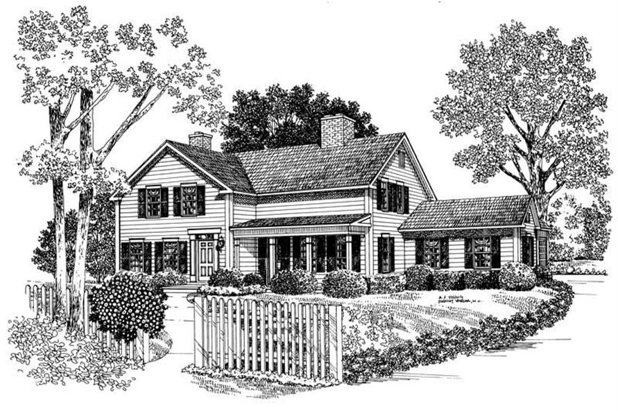 Main image for house plan # 17607