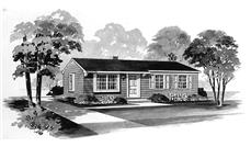 Main image for house plan # 17401