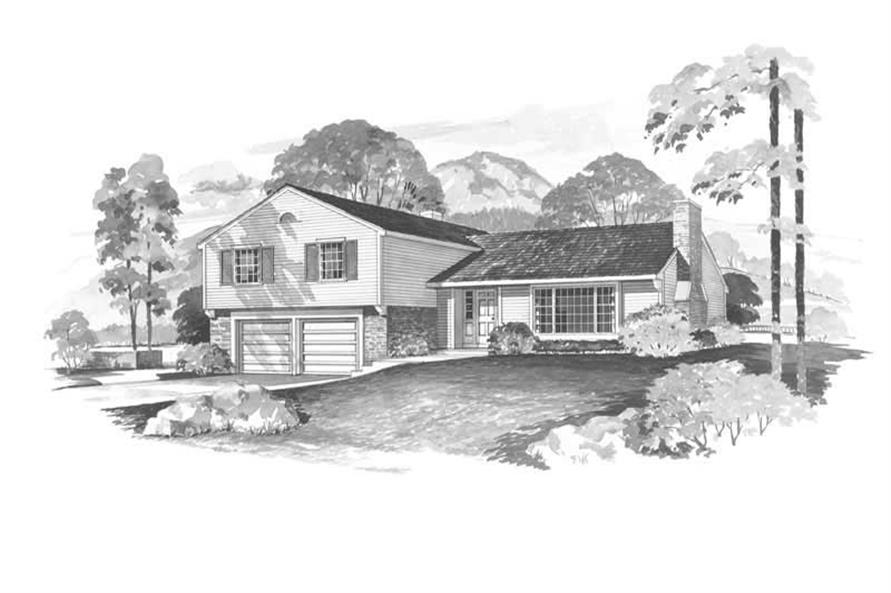 4-Bedroom, 1697 Sq Ft Cape Cod House Plan - 137-1752 - Front Exterior