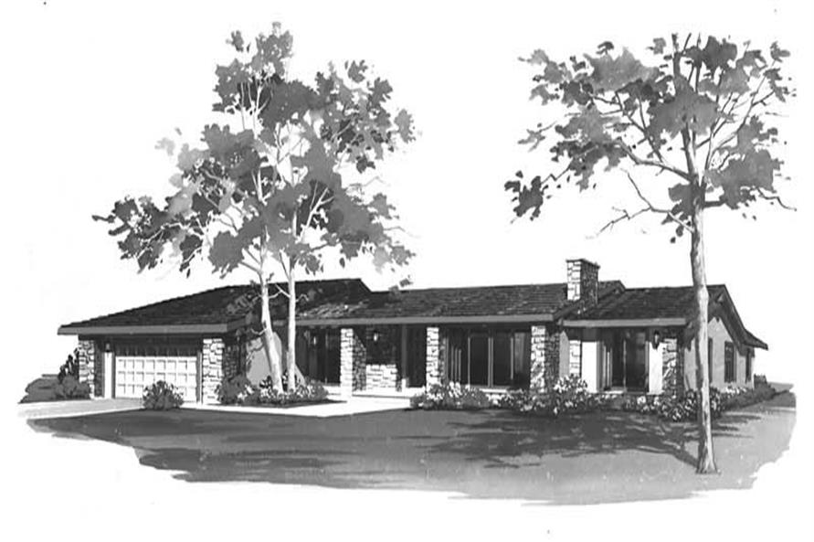 Main image for house plan # 17716