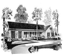 House Plan #137-1756