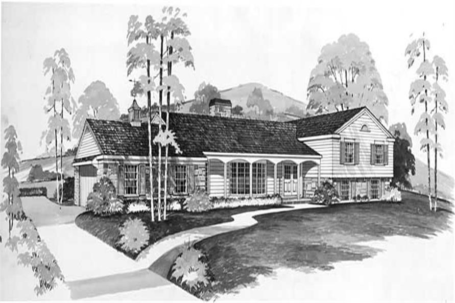 Main image for house plan # 17376