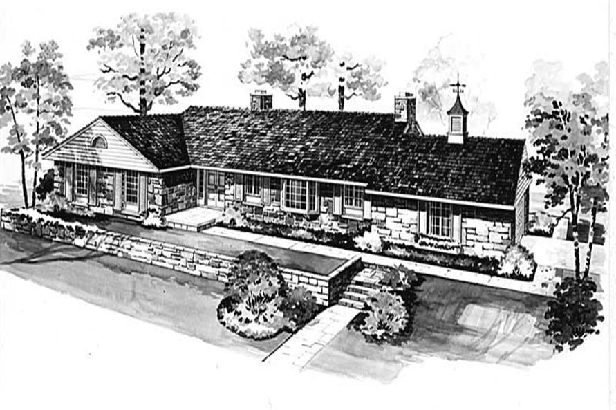 Main image for house plan # 17406