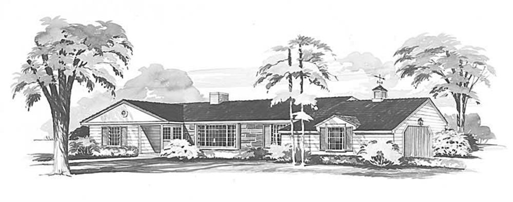Main image for house plan # 17339