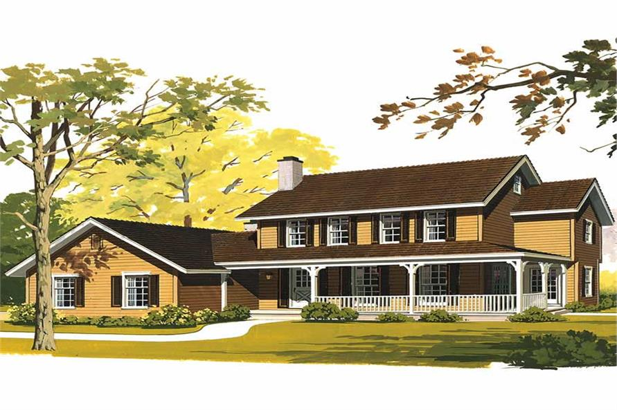 Main image for house plan # 17718