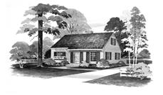Main image for house plan # 17274