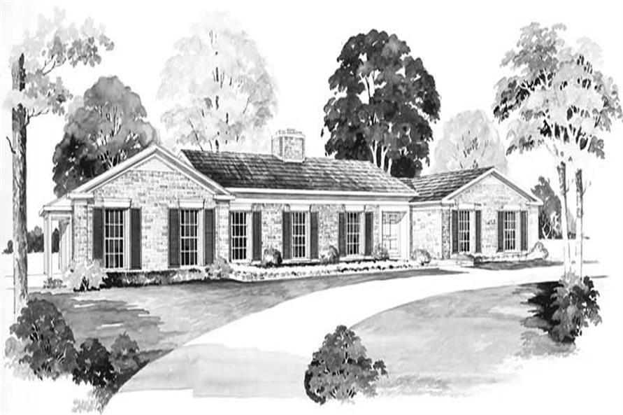 Main image for house plan # 17325