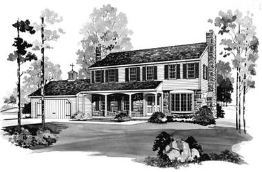 Main image for house plan # 17416