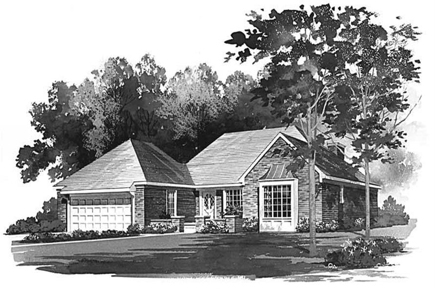 Main image for house plan # 17674
