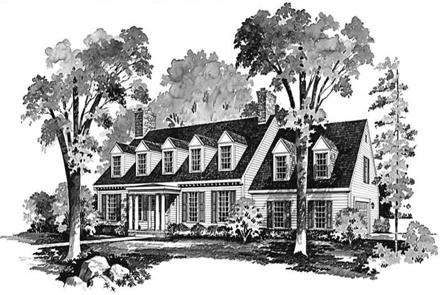Main image for house plan # 17610