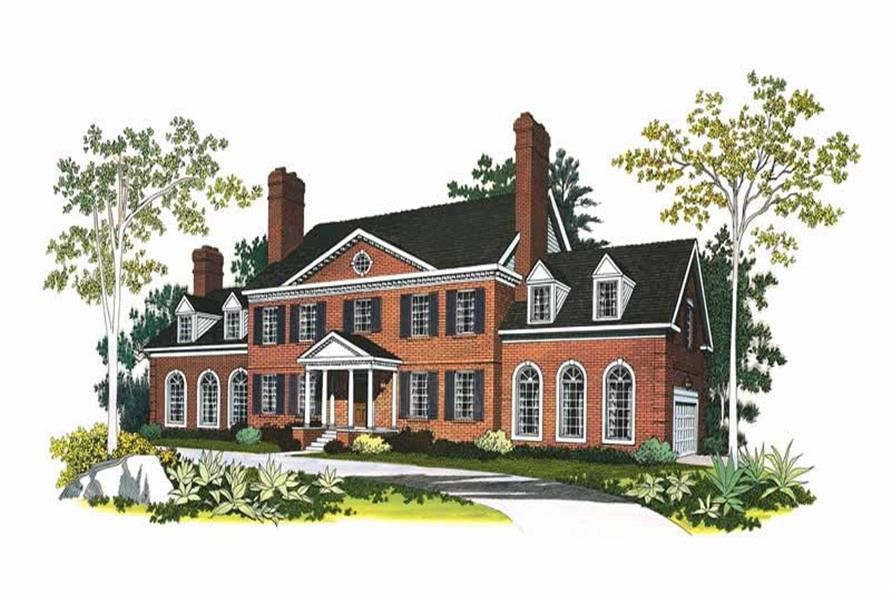 Main image for house plan # 17609